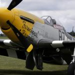 P-51D Mustang 'Ferocious Frankie' to leave the UK