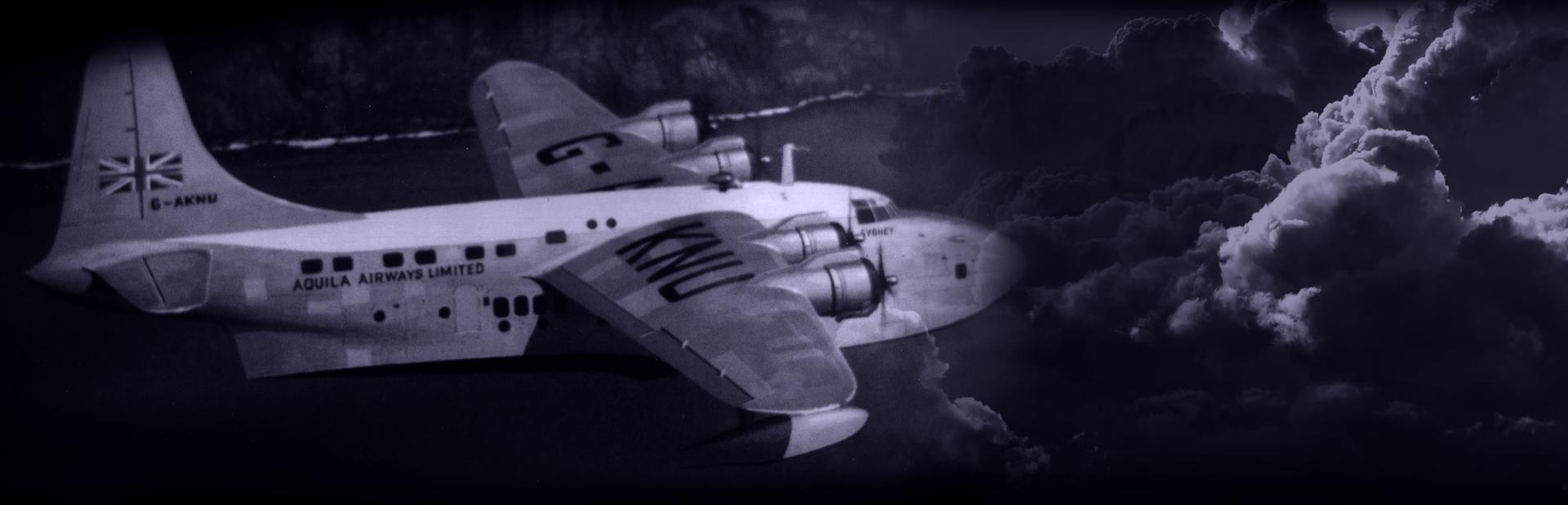 1957 Aquila Airways Solent crash